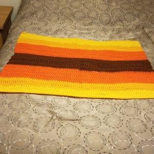 Handmade lap afghan
